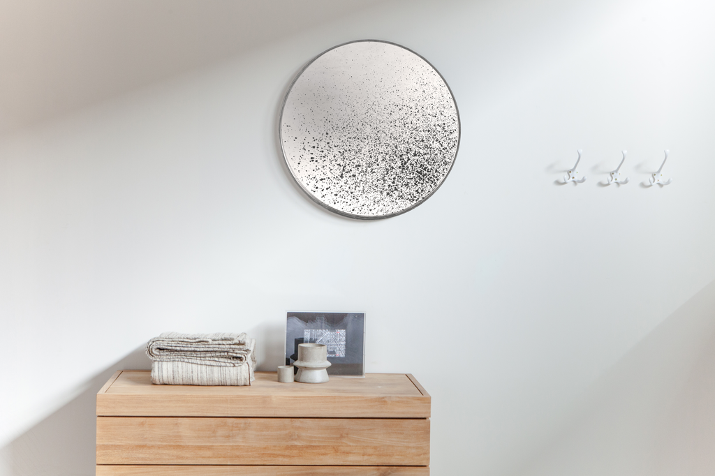 TGN-020600 Clear mirror round
